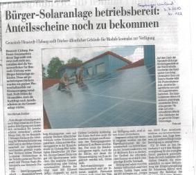 201007 Segeberger Zeitung